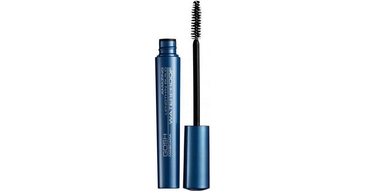 9e8761432bd Gosh Amazing Length'n Build Waterproof Mascara Sort - Sammenlign priser hos  PriceRunner