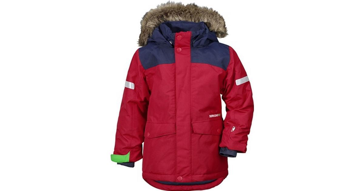 8db2d510 Didriksons Storlien Kid's Jacket - Red (172501471040) - Sammenlign priser  hos PriceRunner