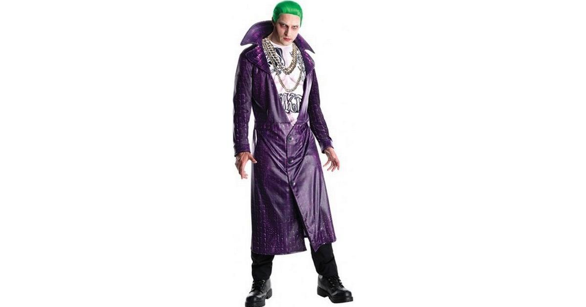 Rubies Joker Suicide Squad Deluxe Maskeraddräkt Vuxen - Hitta bästa pris 5ce42a37dc3fa