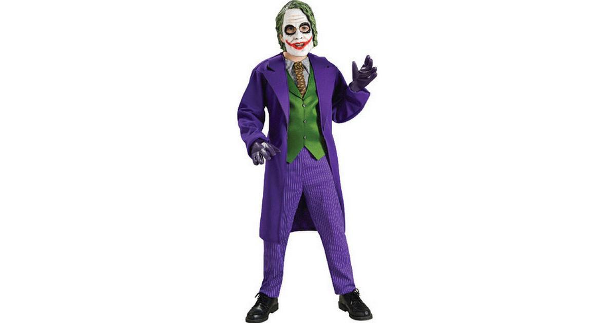 Rubies Deluxe Barn Joker Maskeraddräkt - Hitta bästa pris ... ba6d0d164fcb5