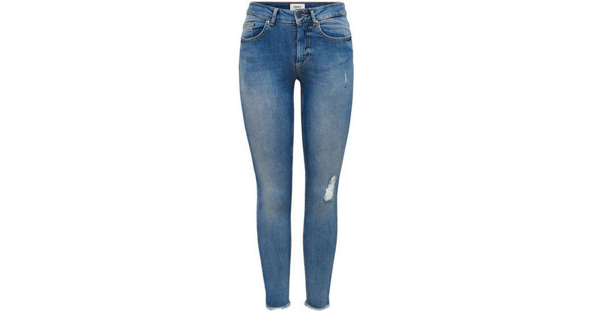 a002864f5c Only Blush Ankle Skinny Fit Jeans Blue/Light Blue Denim