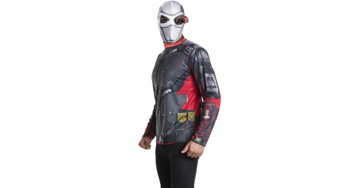 Rubies Vuxen Deadshot Maskeraddräkt - Hitta bästa pris c04e52c5946d7