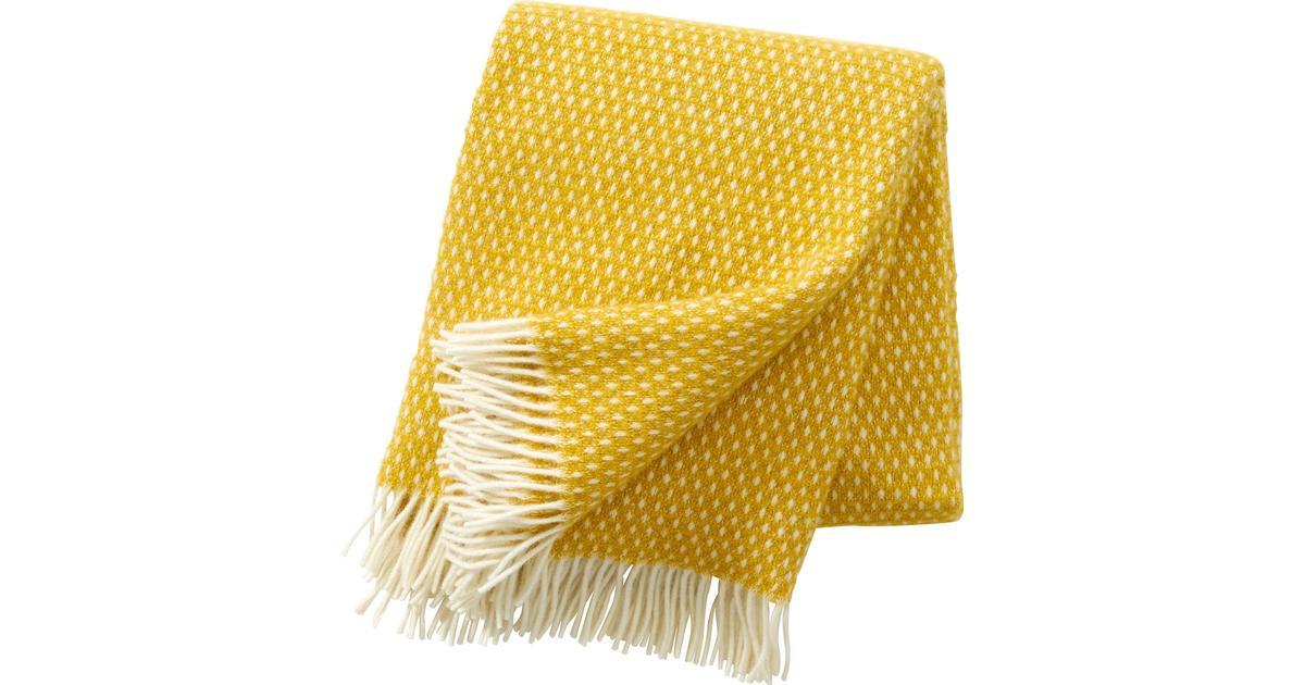 klippan filt gul