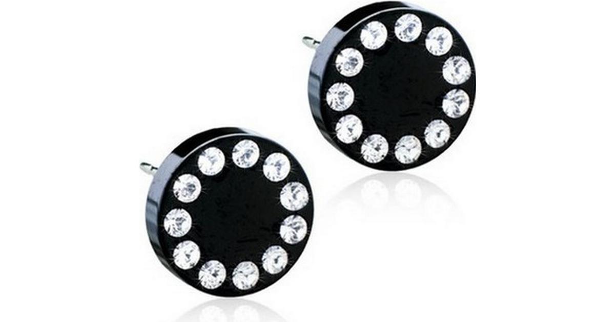 Blomdahl Skin-Friendly Medical Titanium Earrings w. Swarovski Crystal -  0.8cm (15‑1591‑01) - Hitta bästa pris c82da56d9a287
