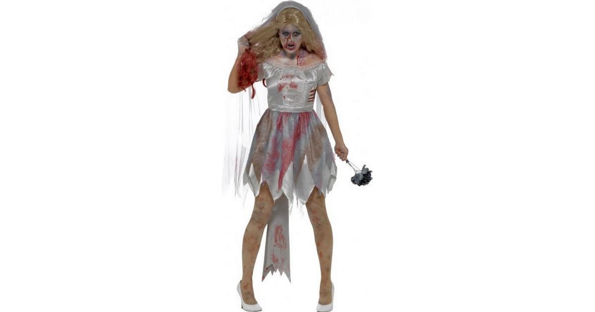 Smiffys Deluxe Zombie Brud Kostume - Sammenlign priser hos PriceRunner 300d232887822