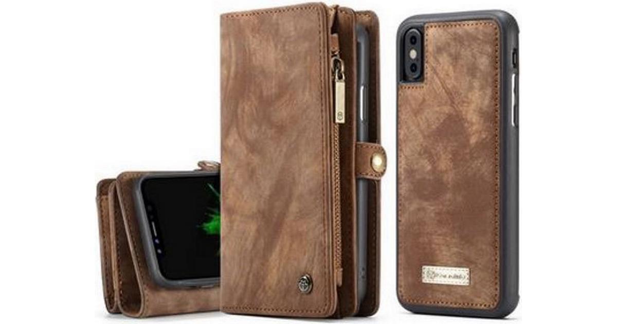 CaseMe 2 in 1 Zipper Wallet Detachable Case (iPhone X) - Hitta bästa pris 77d65b0bb36f3