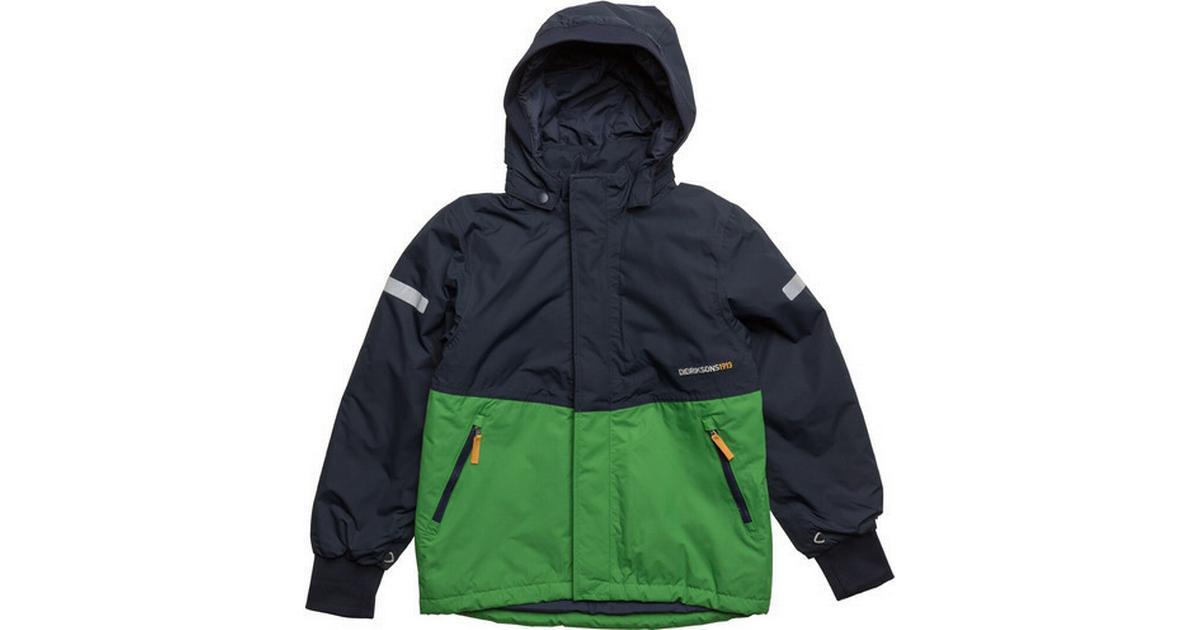 22207911 Didriksons Härje Kid's Jacket - Kryptonite Green (172501474364) - Sammenlign  priser hos PriceRunner