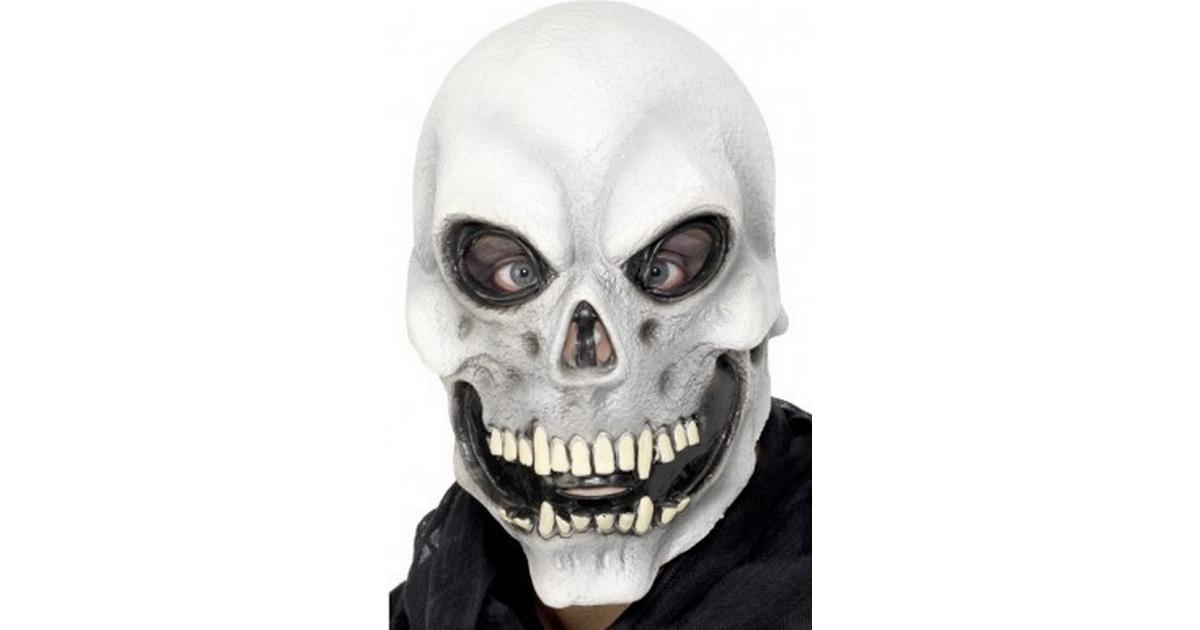 Smiffys Skull Overhead Mask - Hitta bästa pris 52ac3200054da