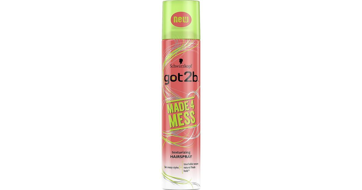 Schwarzkopf Got2b Made4mess Texturizing Hairspray 250ml
