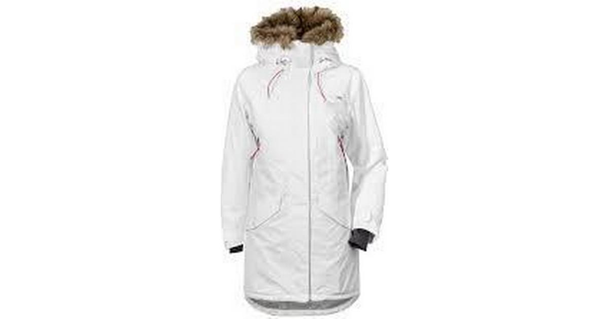2601a37d Didriksons Celine Parka Factory White - Sammenlign priser hos PriceRunner