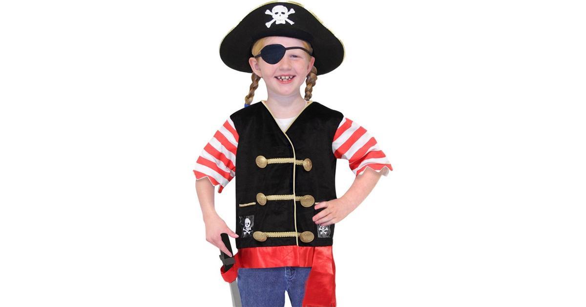 Melissa   Doug Pirate Role Play Costume Set - Hitta bästa pris ... 3609d9a277e6b