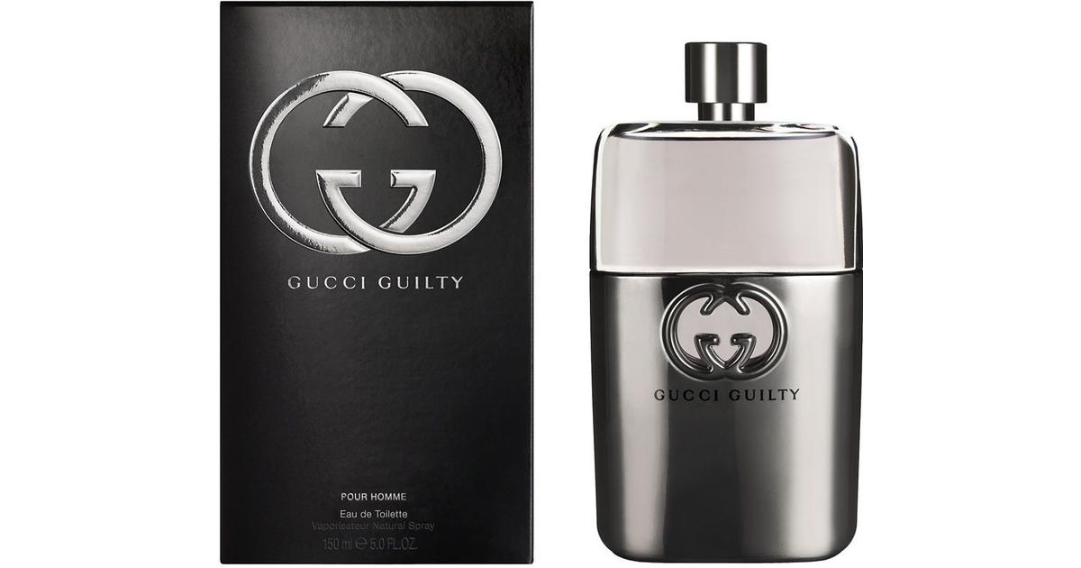 f5886cf7bc6 Gucci Guilty Pour Homme EdT 150ml - Compare Prices - PriceRunner UK
