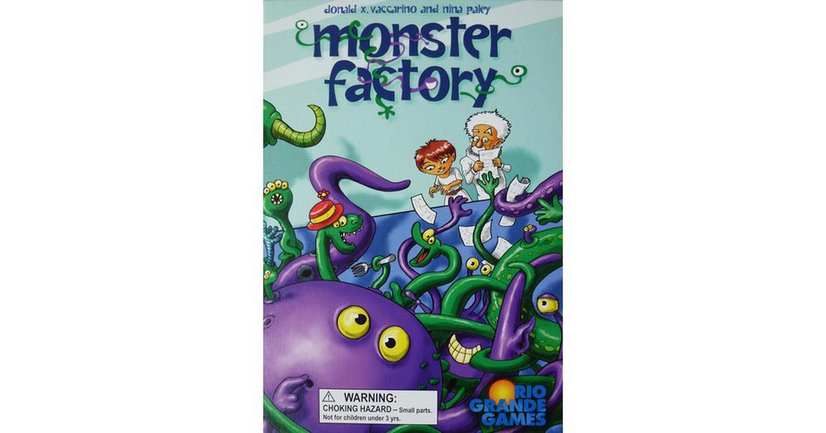 rio grande games monster factory hitta bästa pris recensioner och