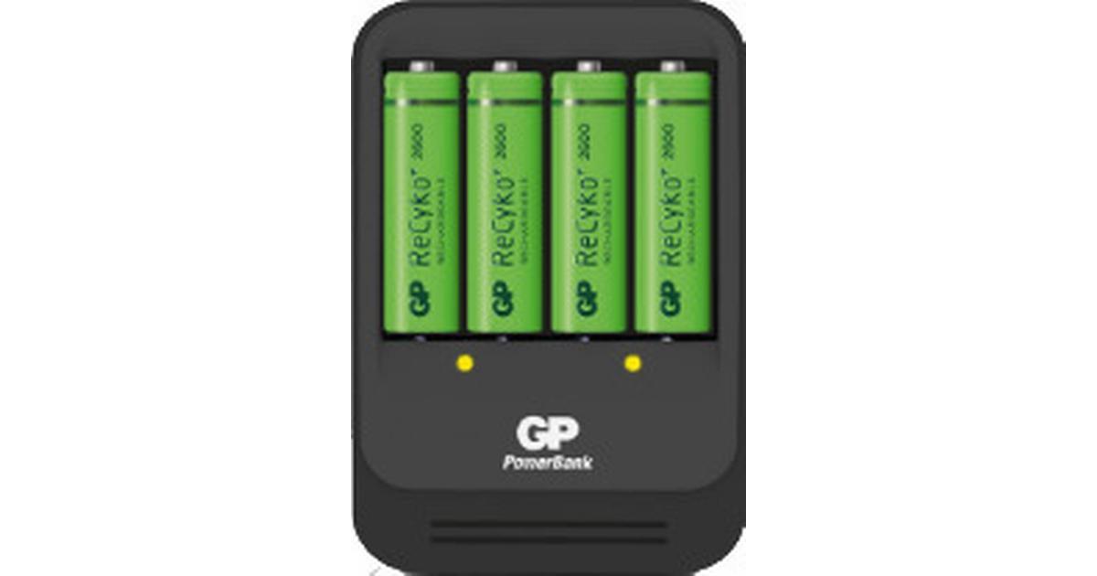 GP Batteries ReCyko PB570GSE270-2GBW4 4 Pack - Hitta bästa pris ... dd1a30ea54c17