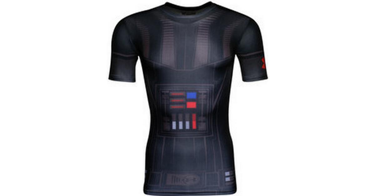5656cc2d Under Armour Star Wars UA Vader Compression Shirt Men - Black - Sammenlign  priser hos PriceRunner