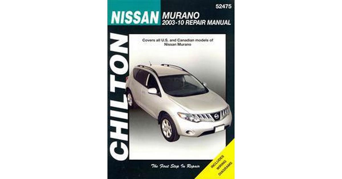 2012 nissan murano repair manual