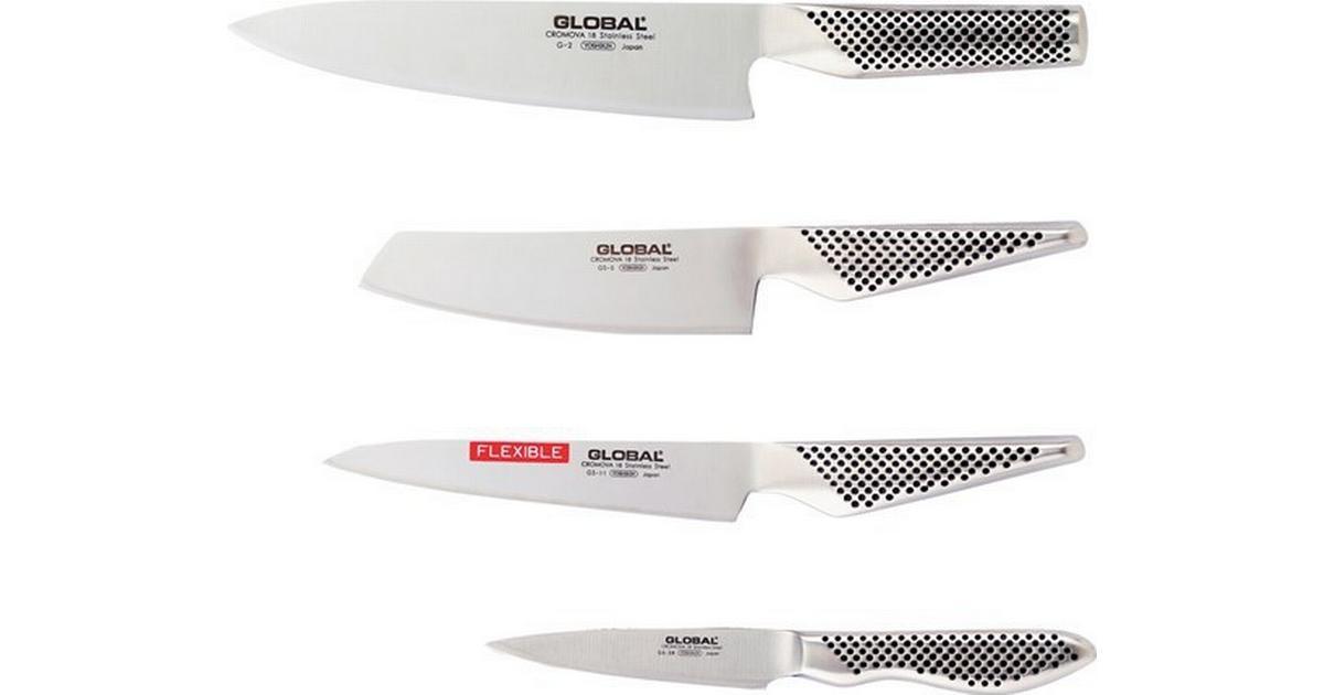 Global G-251138 Knivset - Hitta bästa pris 083e5012743ee