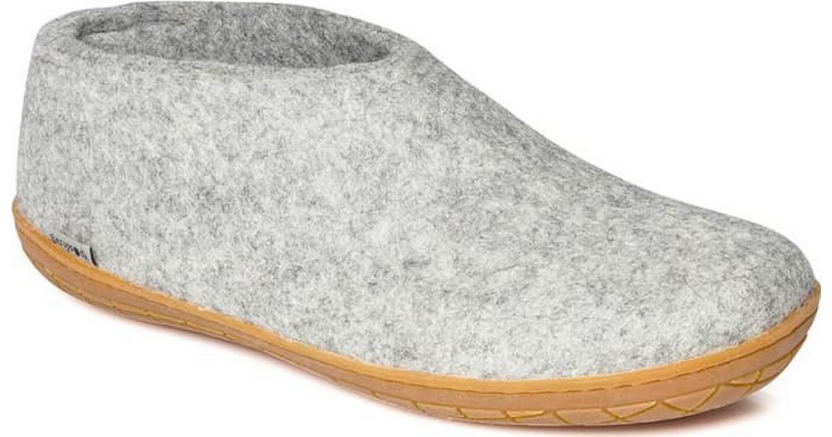 38acab8c Glerups Shoe W. Rubber Sole Grey - Sammenlign priser hos PriceRunner