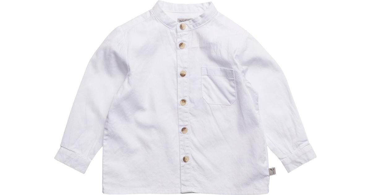 17bf41c4bf5 Wheat Pocket LS Shirt - White - Sammenlign priser hos PriceRunner
