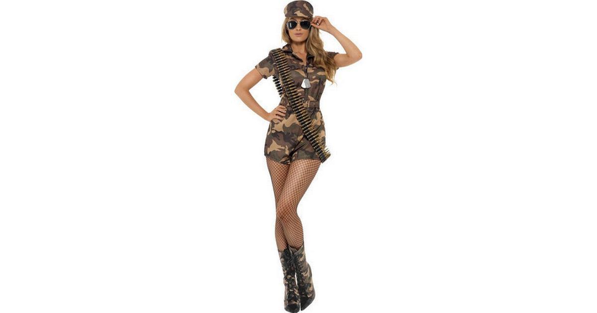 Star Trading Army Girl Sexy Costume - Hitta bästa pris 89de02e501049