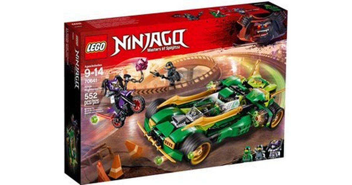 Lego Ninjago Ninja Nightcrawler 70641 Compare Prices Pricerunner Uk