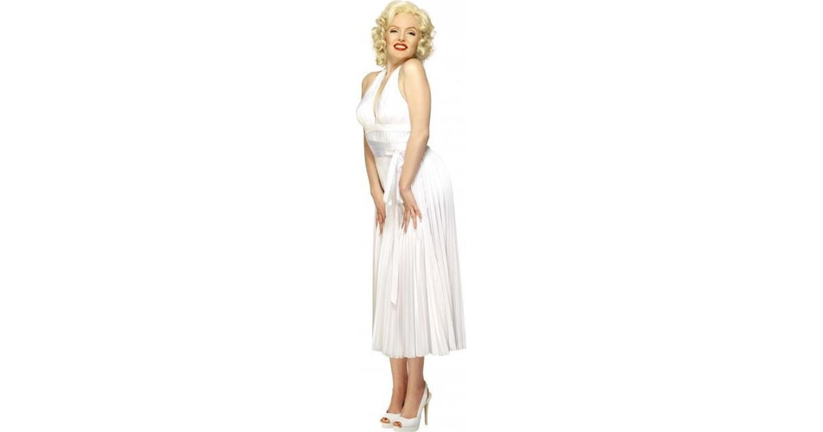 148dfddcf285 Smiffys Marilyn Monroe Halterneck Dress White - Hitta bästa pris,  recensioner och produktinfo - PriceRunner