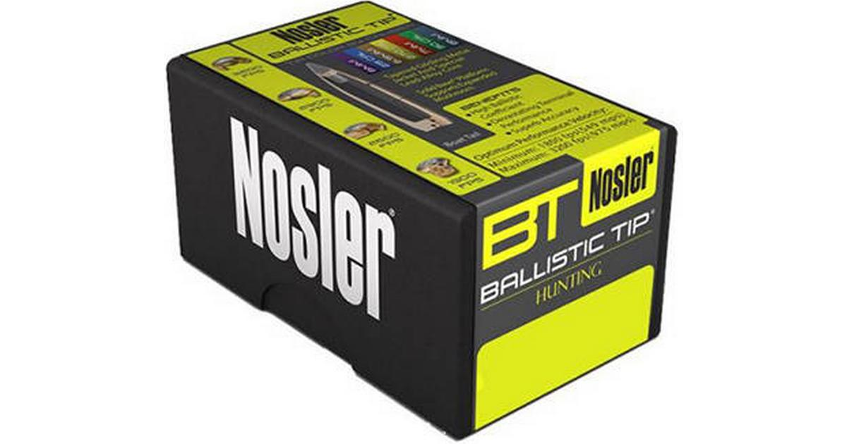 Nosler Ballistic Tip 7mm 140gr 50pcs - Hitta bästa pris, recensioner och  produktinformation på PriceRunner Sverige
