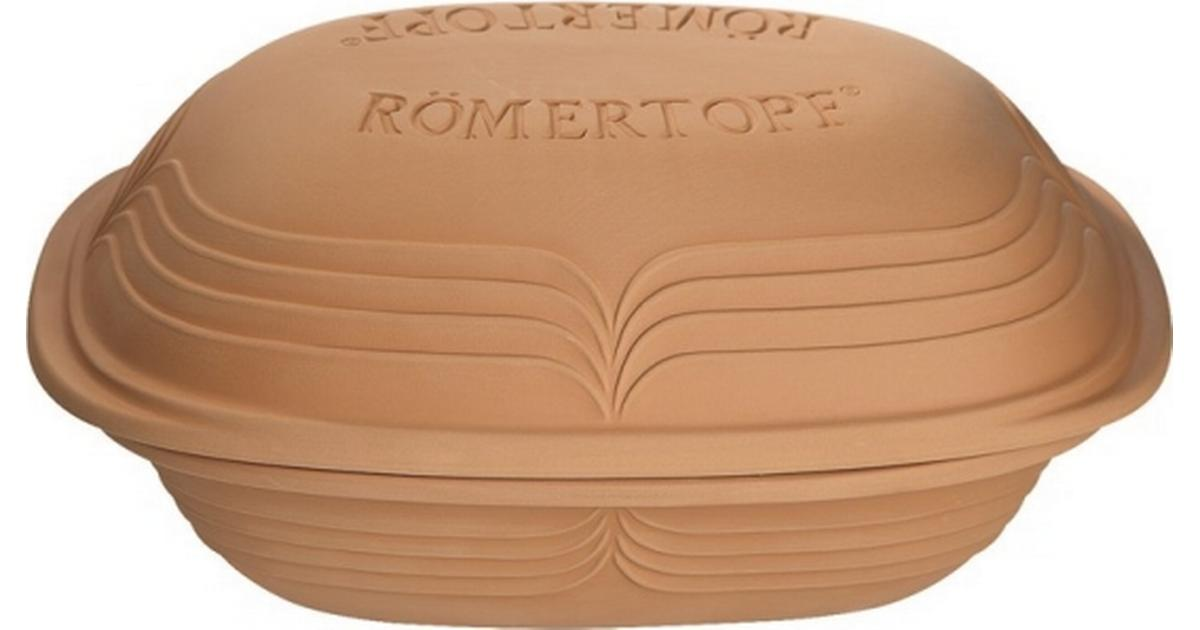 Römertopf - Lergryde med låg 25cm - Sammenlign priser hos PriceRunner