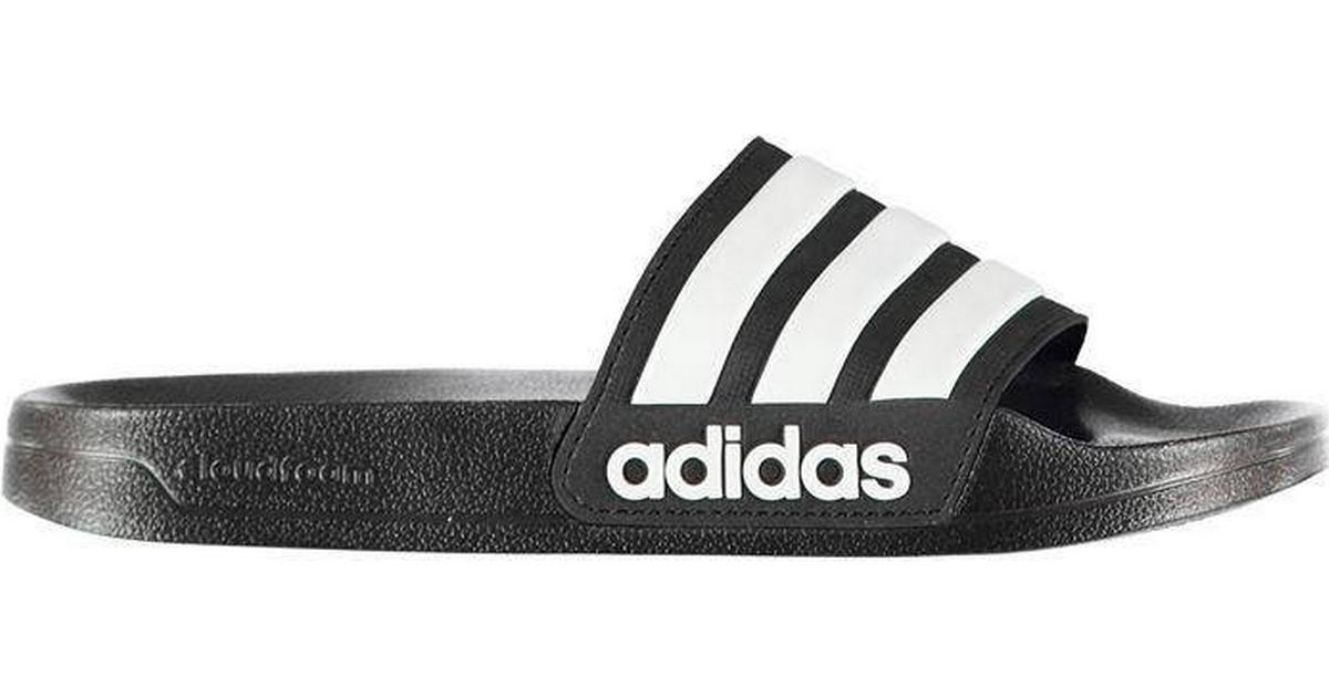 c0ec3921548 Adidas Adilette Cloudfoam Slides - Black/White - Hitta bästa pris,  recensioner och produktinfo - PriceRunner