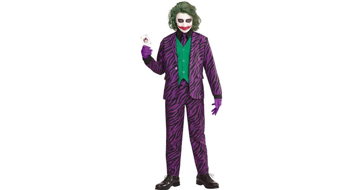 Widmann Evil Joker Barn Maskeraddräkt - Hitta bästa pris ... 73069b6f352f8