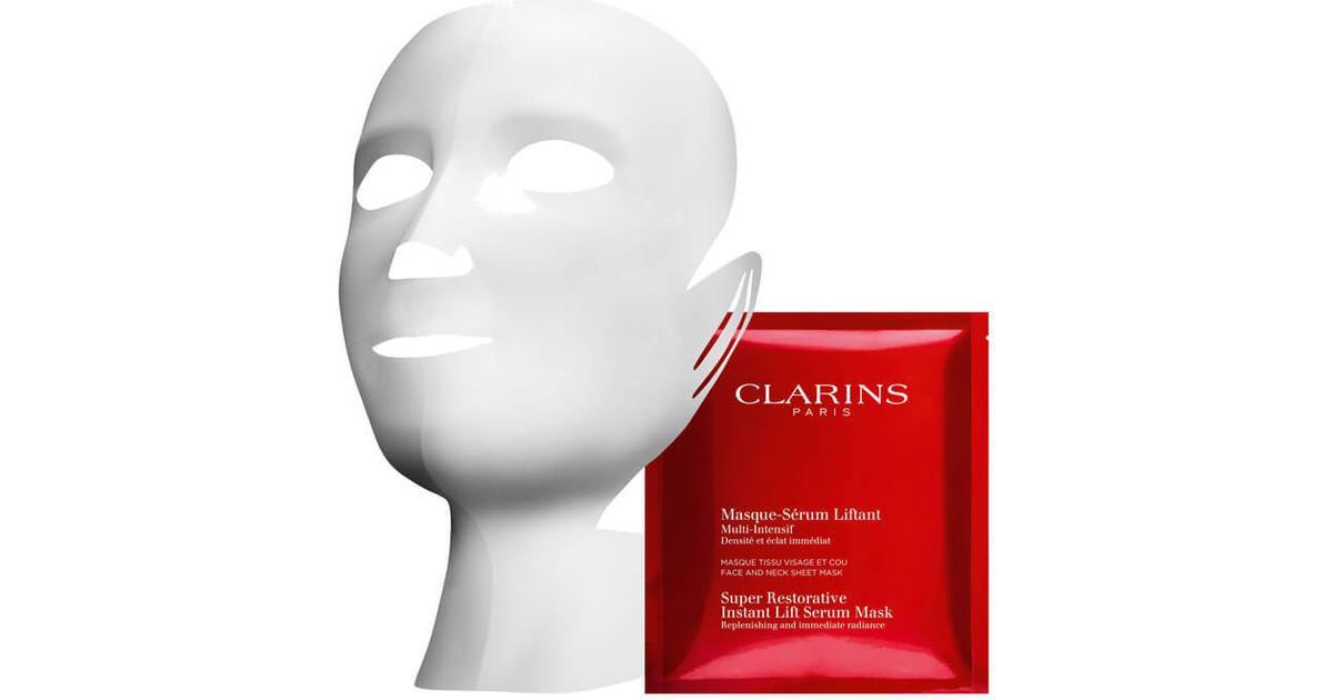 Clarins Super Restorative Instant Lift Serum Mask 5-pack - Sammenlign  priser hos PriceRunner 45aceab1a2ff2