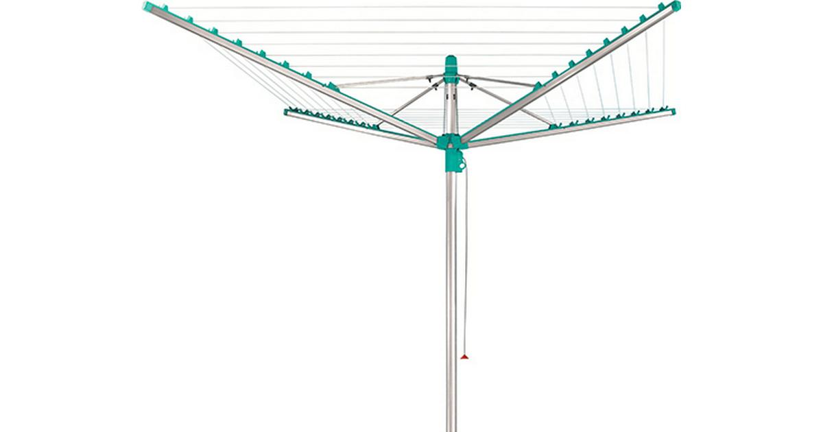 leifheit linomatic 400 deluxe drying rack 215cm hitta b sta pris recensioner och produktinfo. Black Bedroom Furniture Sets. Home Design Ideas