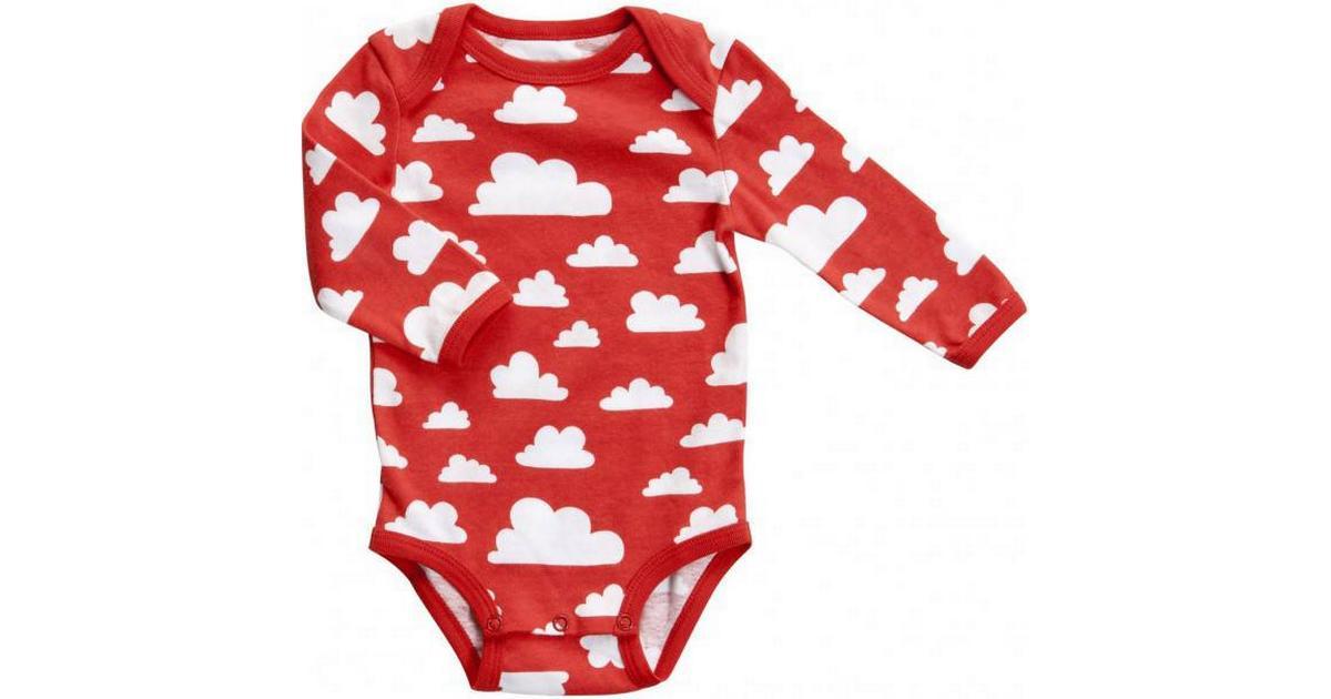 Färg & Form Klänning Moln Röd 104cl | Barneklær & Babyklær