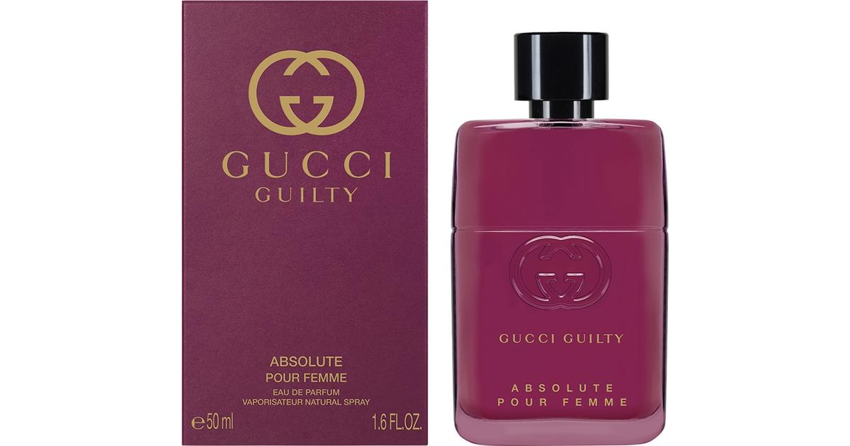 28eac0cfb9e7 Gucci Guilty Absolute Pour Femme EdP 50ml - Compare Prices - PriceRunner UK