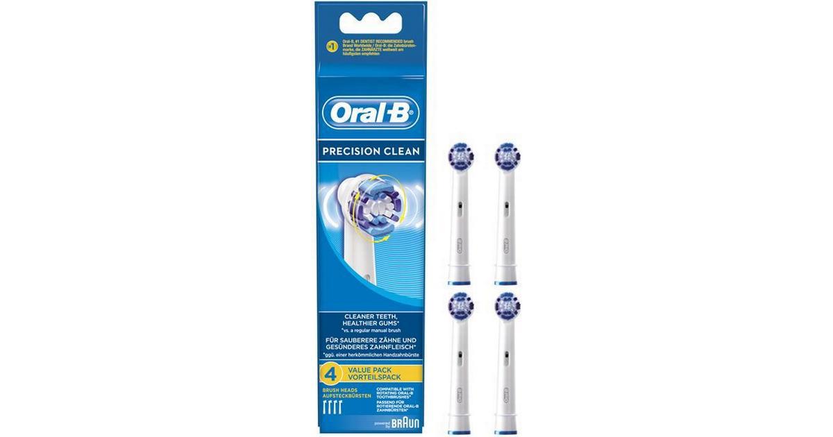 Oral-B Precision Clean 4-pack - Hitta bästa pris efdad05c21754