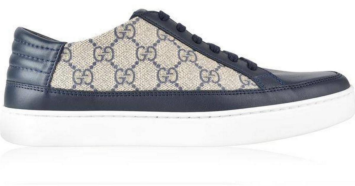 1a9c9819d5f2 Gucci Gg Supreme - Beige Blue - Sammenlign priser hos PriceRunner