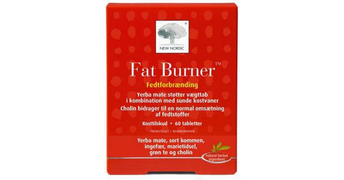 4dcd74f0ef8 New Nordic Fat Burner 60 stk - Sammenlign priser hos PriceRunner