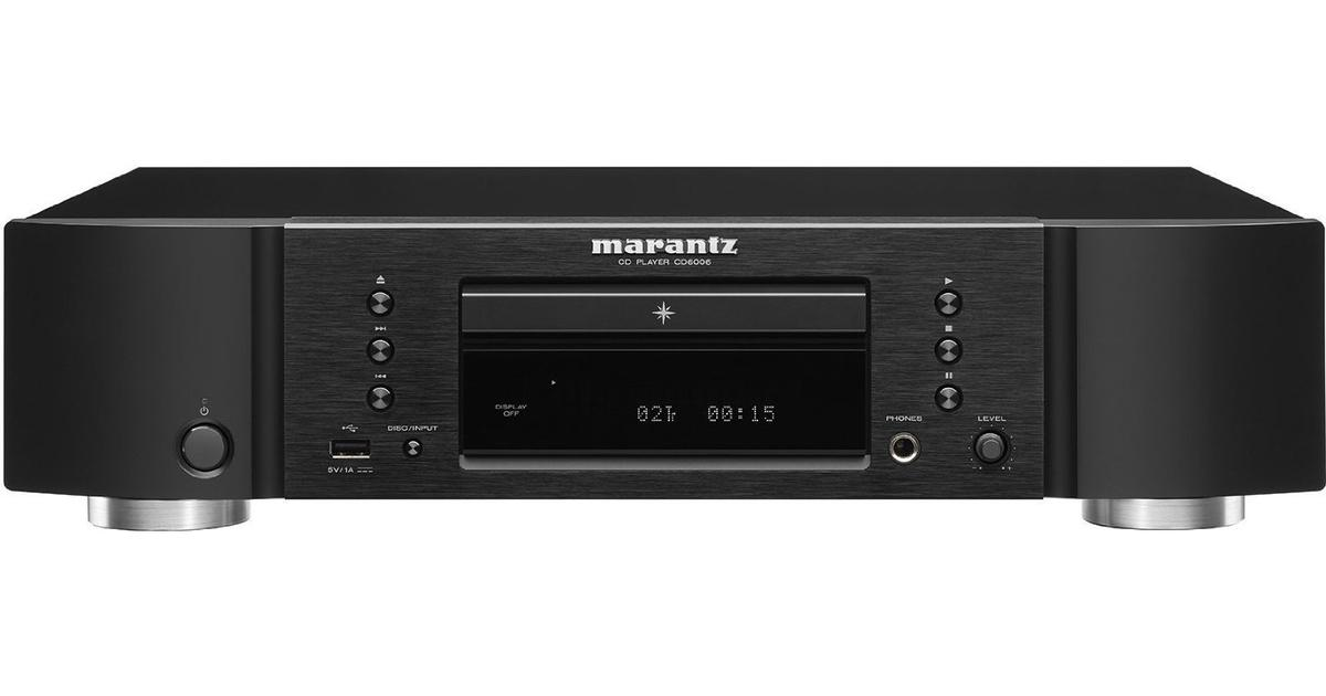marantz cd6006 sammenlign priser hos pricerunner. Black Bedroom Furniture Sets. Home Design Ideas