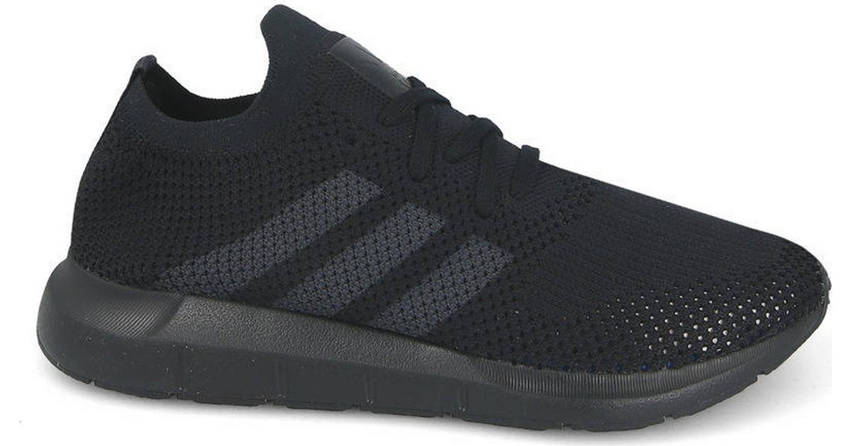816873fcb Adidas Swift Run Primeknit - Black Grey - Sammenlign priser hos PriceRunner