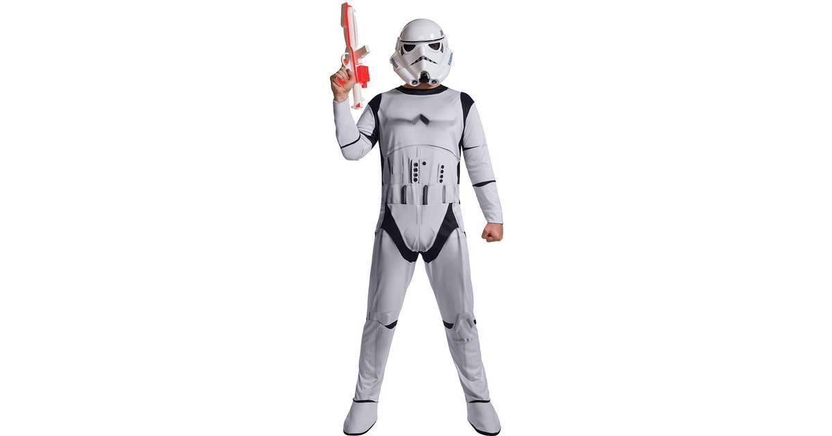 Rubies Classic Deluxe Adult Stormtrooper Costume - Hitta bästa pris ... 31506ab8ad744