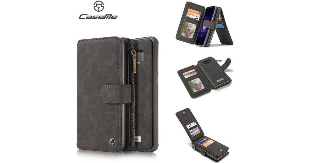 CaseMe Retro Wallet Case (Galaxy S8) - Hitta bästa pris 151565e08ba2d