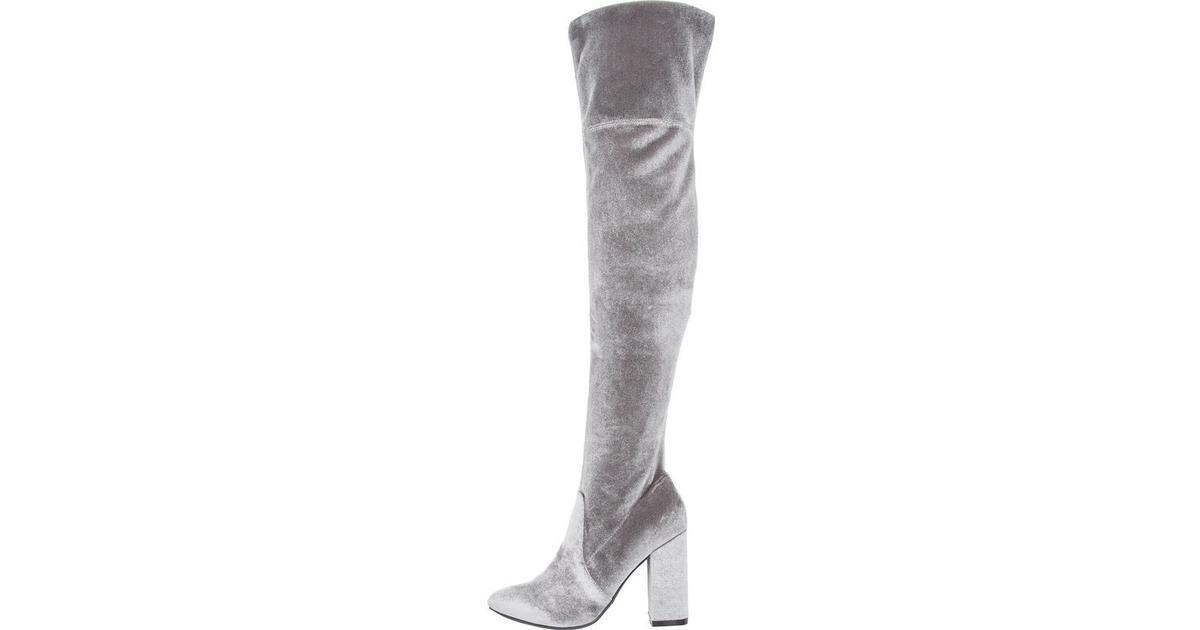 f2af9d9f678 Bianco Glitter Overknee Stretch Grey/Grey - Sammenlign priser hos  PriceRunner