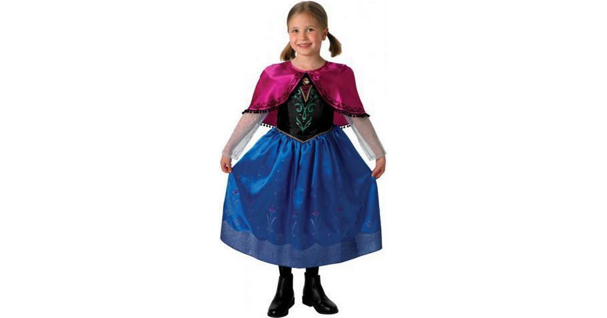 Rubies Frost Anna Deluxe Barn Maskeraddräkt - Hitta bästa pris ... 86029b331082c