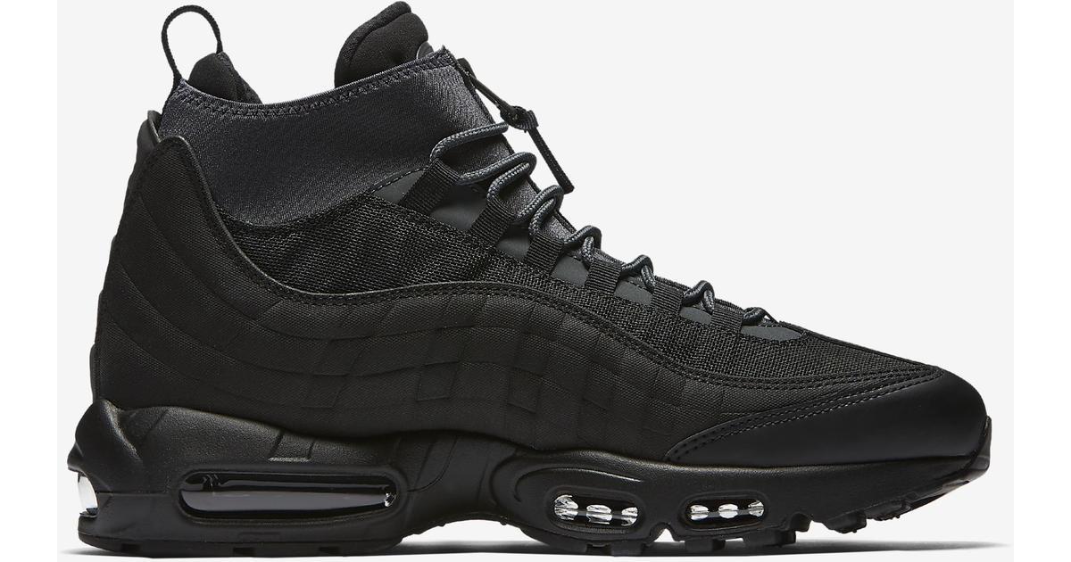 new style 9f992 11f11 Nike Air Max 95 Sneakerboot - Black - Hitta bästa pris, recensioner och  produktinfo - PriceRunner