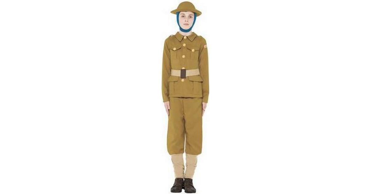 Smiffys Horrible Histories WWI Boy Costume - Hitta bästa pris ... 3a86cdfc9c964