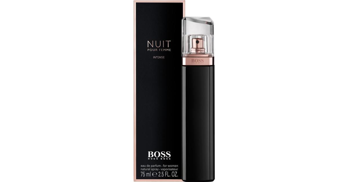 f85b8211e7 Hugo Boss Boss Nuit Pour Femme Intense EdP 75ml - Compare Prices -  PriceRunner UK