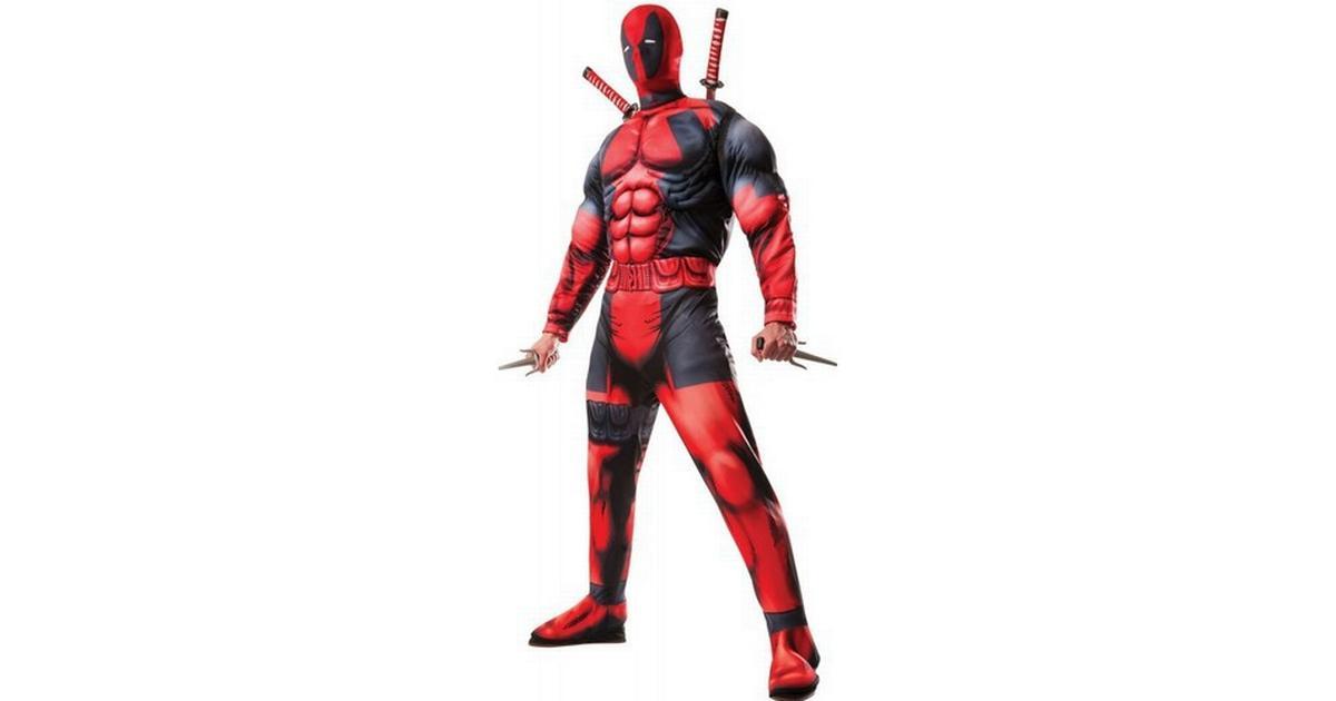 Rubies Deluxe Fiber Filled Deadpool - Hitta bästa pris 37b63167d0a38