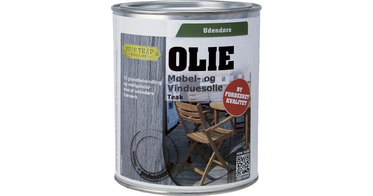 trip trap olie udendørs