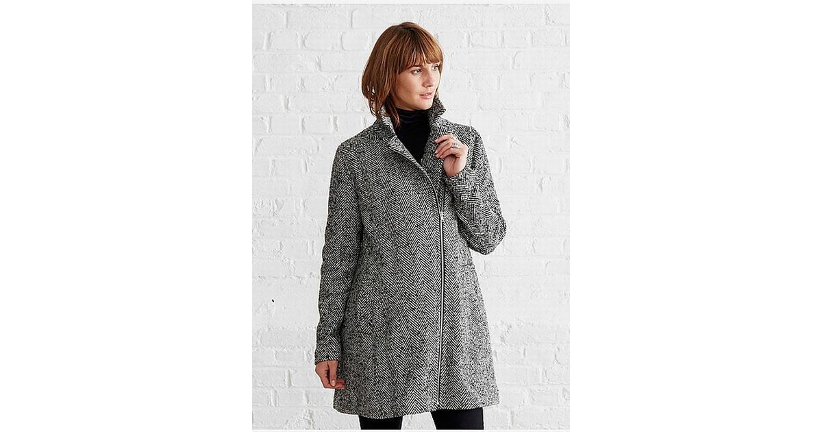 fa27b55a5dc73 Vertbaudet 3 in 1 Adaptable Maternity Coat Grey Dark Solid (001000027) -  Sammenlign priser hos PriceRunner