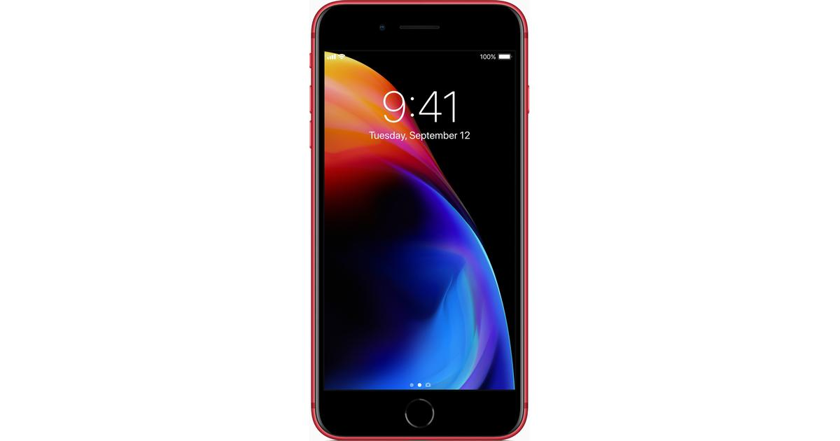 1403e8bf Apple iPhone 8 (PRODUCT) RED Special Edition 64GB - Sammenlign priser hos  PriceRunner